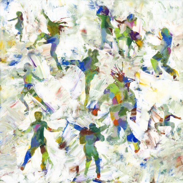 30x30 mixed media on canvas
